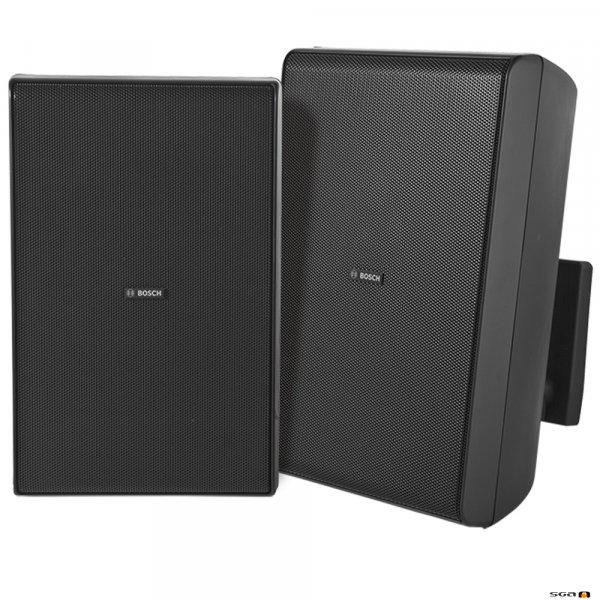 Bosch LB20-PC60-8D black cabinet speaker, IP54 weather resistant,
