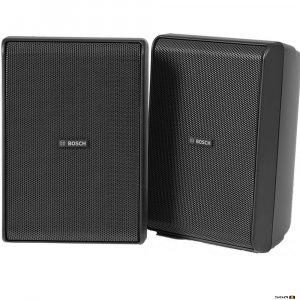 """Bosch LB20-PC60EW-5D cabinet speaker, black, 5"""" 2 way high-performance indoor/outdoor loudspeaker,"""