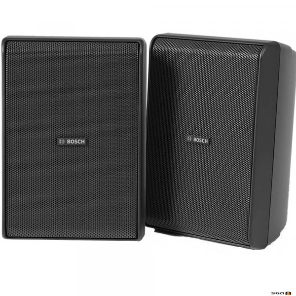 "Bosch LB20-PC60EW-5D cabinet speaker, black, 5"" 2 way high-performance indoor/outdoor loudspeaker,"