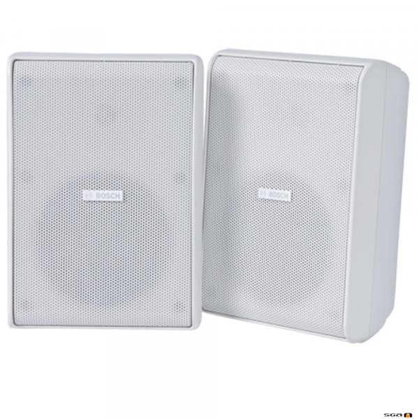 "Bosch LB20-PC60EW-5L cabinet speaker, white, 5"" 2 way"