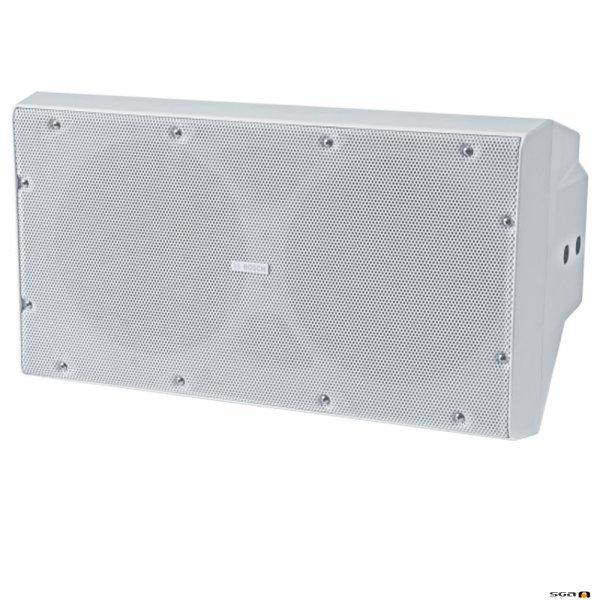 "Bosch LB20-SW400-L White Subwoofer cabinet speaker 2x10"" woofers,"