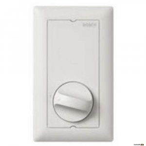 Bosch LBC-1420/10 Wall Volume 100W with Relay, portrait orientation.