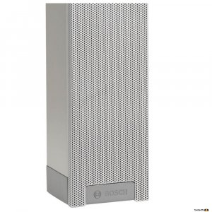 Bosch LBC 3200/00 XLA line array column suitable for indoor applications.