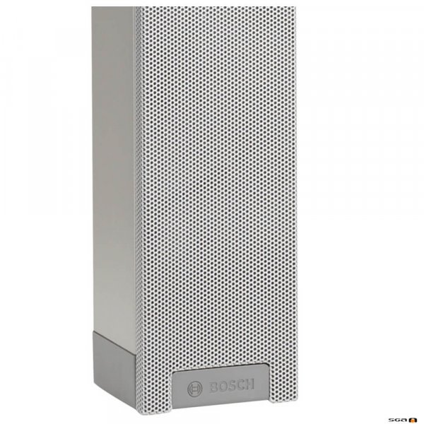 Bosch LBC 3200/00 XLA line array column suitable for indoor applications.