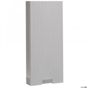 Bosch LBC 3210/00 XLA line array column suitable for both indoor and outdoor applications.