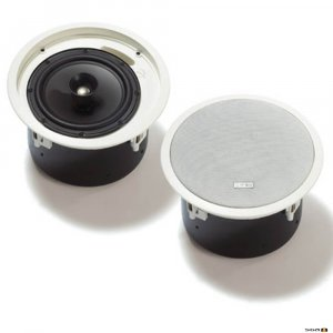 "Bosch LC2PC30G6-8L ceiling speaker 8"" 2-way coaxial with low-profile back-can."