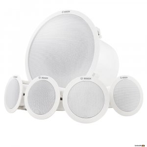 Bosch LC6-100S-L ceiling mount BGM speaker system package