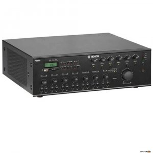 Bosch PLN6AIO240 Multi Zone All In One Mixer Amplifier 240W with six zones background music and paging system
