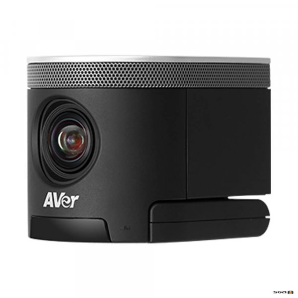 Aver CAM340+ Professional Video Conference Camera angled to the left