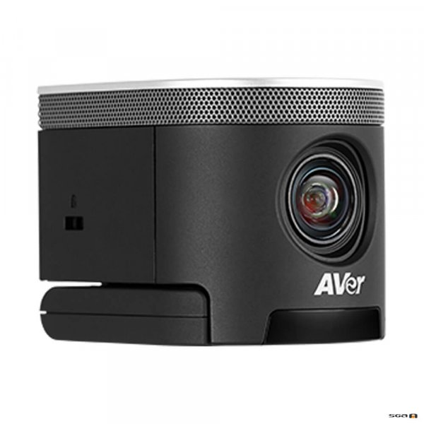 Aver CAM340+ Professional Video Conference Camera angled to the right
