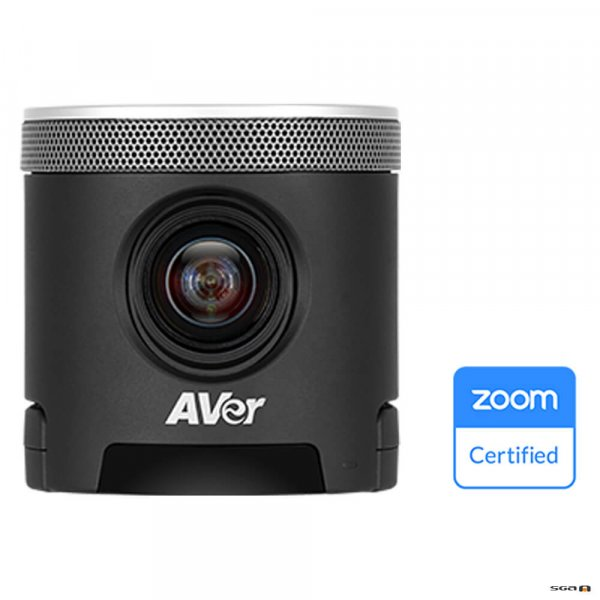 Aver CAM340+ Professional Video Conference Camera and displaying Zoom Certification