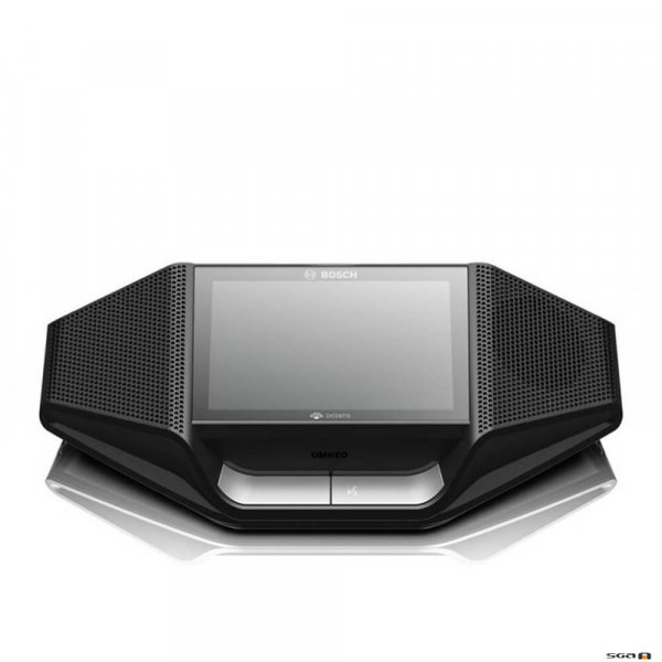 Bosch Dicentis DCNM WDE Wireless Desk Unit to suit Dicentis Wireless Conference System front view