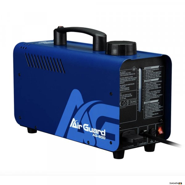 Antari AirGuard AG800 Disnifection Fog Machine rear