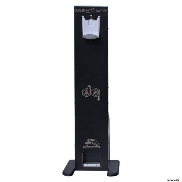 Ovation SaniStation foot opertaed sanitiser dispenser for aduts