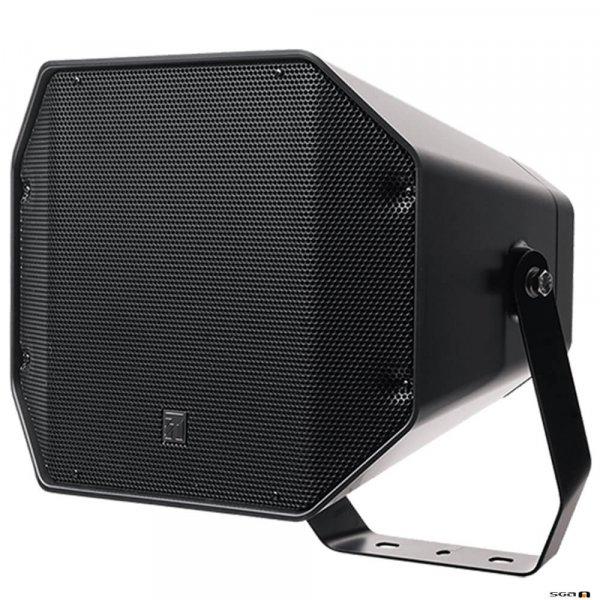 TOA CS760B Full Range Music Horn Speaker with wall mount bracket, black