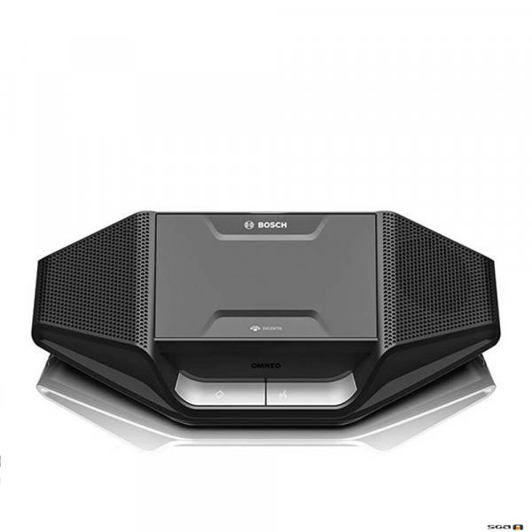 Dicentis DCNM WD Wireless and battery powered desk unit front view