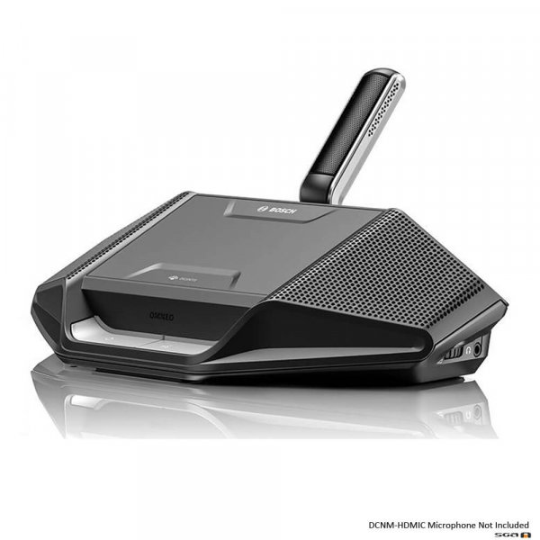 Bosch Dicentis DCNM WD Wireless Desk unit with DCNM HDMIC microphone