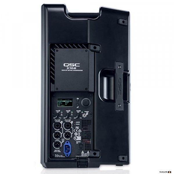 """QSC K10.2 Powered Speaker 10"""" 2-Way (2000W) Rear view"""