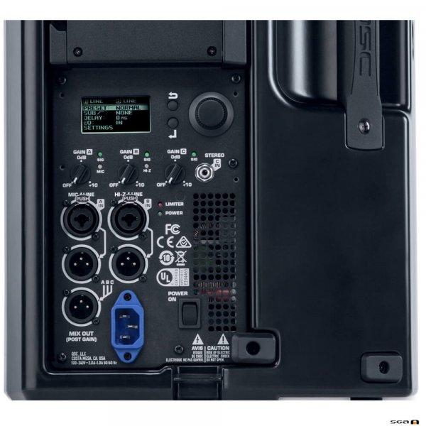 "QSC K10.2 Powered Speaker 10"" 2-Way (2000W) Control Panel"