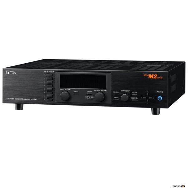 TOA M9000M2 Modular 8 x 8 DSP Matrix Mixer / Pre Amp