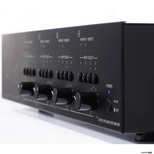 TOA MA725F Matrix amplifier, 6 inputs skew