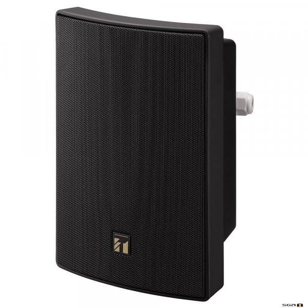 TOA BS1015BSB 15 Watt Black Speaker, 2-way Bass Reflex