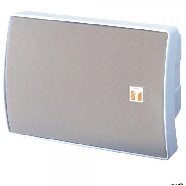 TOA BS1015BSW 15 Watt White Speaker, 2-way Bass Reflex