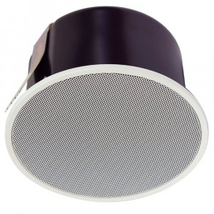 "TOA PC1860BSC 6W 5"" Single Cone Speaker with Metal Grille"
