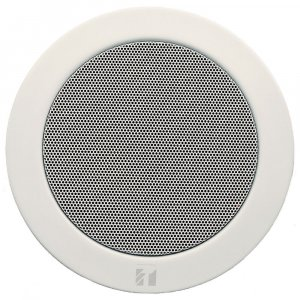 "TOA PC1869EN 6W 5"" Single Cone Speaker with Metal Grille & Spring Catch Mounting"