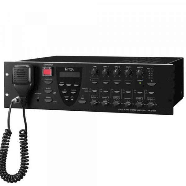 TOA VM3240VA Paging Amplifier
