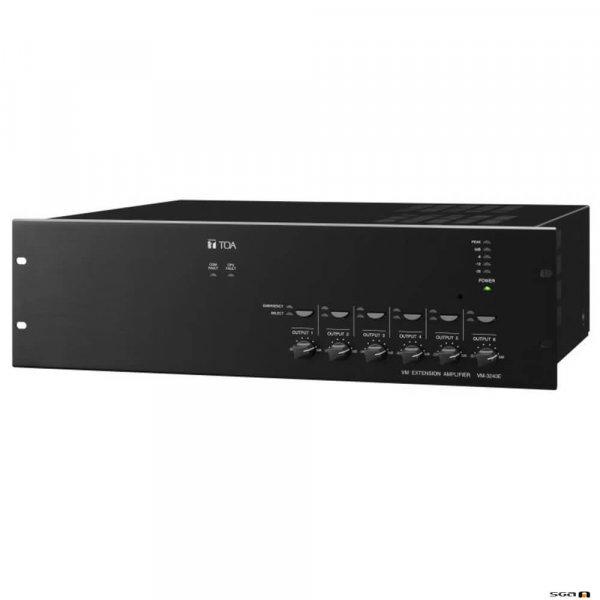 TOA VM3360E 360W 6 zone extension amplifier