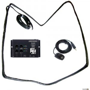 Ampetronic CLD1-CB Compact Loop Driver with Boundary Microphone & Loop Coil.