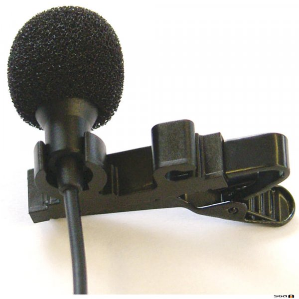 Ampetronic EM-1.2 Tie Clip Style Microphone EM-1.2