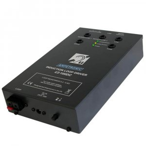Ampetronic ILD100DC Loop Driver in a class of its own, designed for mobile applications including boats, mini busses, small public transport vehicles