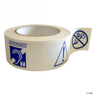 Ampetronic PWT Adhesive Installation / Warning Tape 50m Reel.