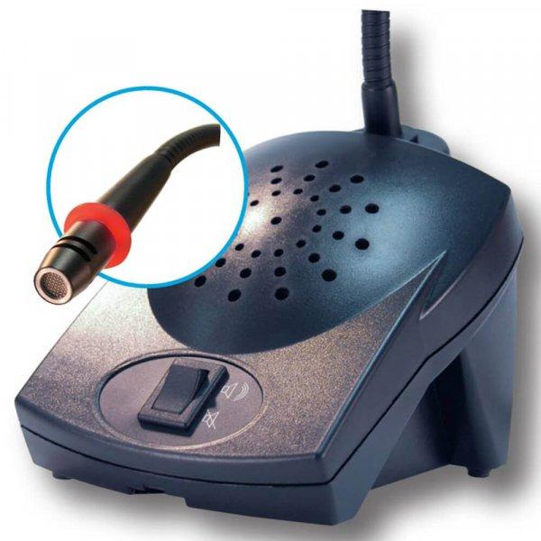 Ampetronic TalkPerfect TP-CMB400LED Combi Gooseneck Microphone