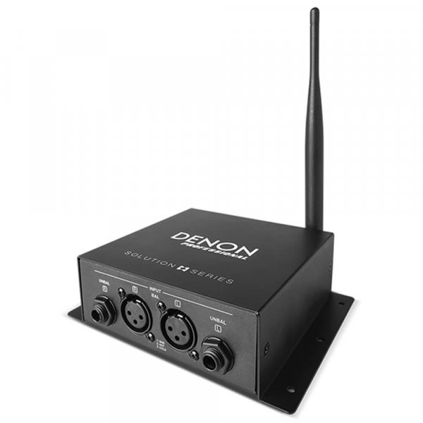 DENON DM-DN202WT Send and receive audio up to 30m without wires.