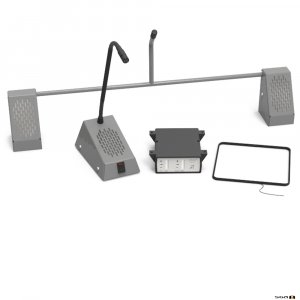 Contacta STS-K001L-G Bridge Bar Kit - Grey