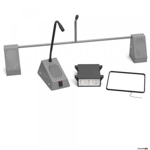 Contacta STS-K001L-G Bridge Bar Kit - Grey