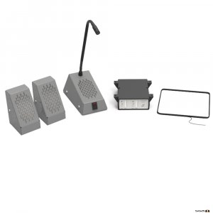 Contacta STS-K002L-G Surface Mounted Kit - Grey,