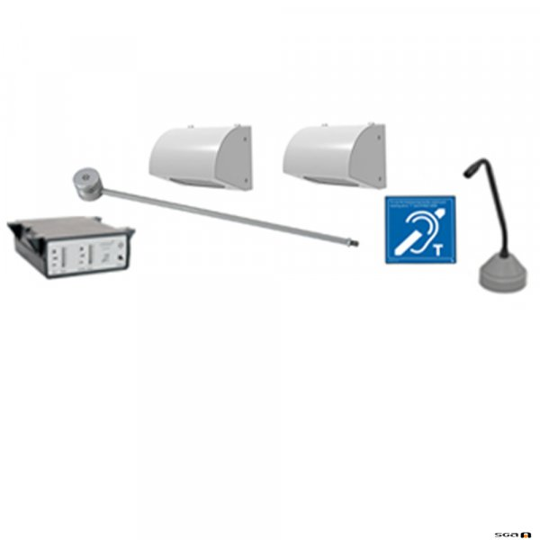 Contacta STS-K062 Surface Mounted Speakers & Anti-Vandal Mic System