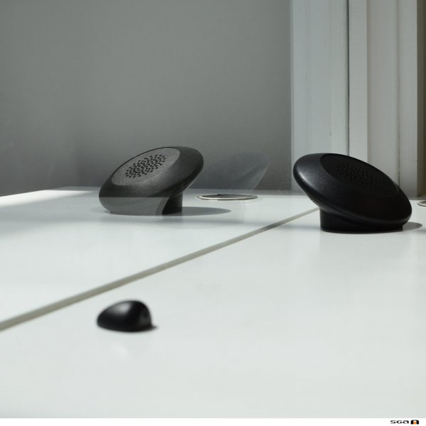Contacta STS-K070 Dual Speaker Pod System speaker and mic