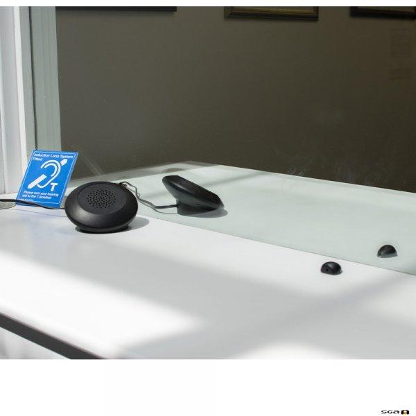 Contacta STS-K070 Dual Speaker Pod System in situ
