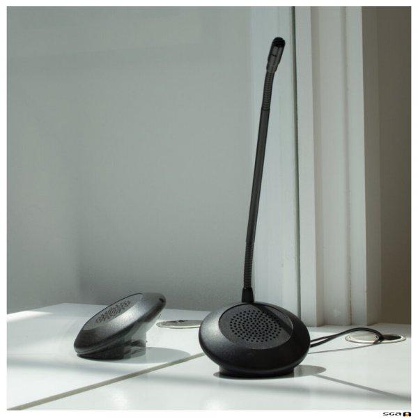 Contacta STS-K071 Speaker and Microphone Pod System in situ 02