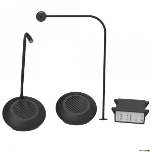 Contacta STS-K072 Speaker Pod and Screen Mounted Mic System.