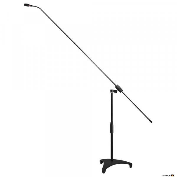 JTS FGM62 Long gooseneck mic, carbon shaft, short stand, omni, cardioid, supercardioid capsules, very light carbon boom.