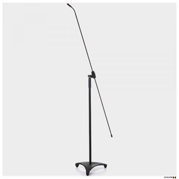 JTS JP-FGM170T Long gooseneck mic, carbon shaft, tall stand, JS-22 premium Cardioid, Supercardioid, Omni-directional capsules supplied