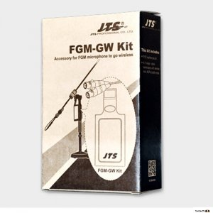 JTS-FGMGW Accessory kit for FGM mics to accept wireless belt-pack transmitter: pouch, mini-XLR/mini-XLR cable