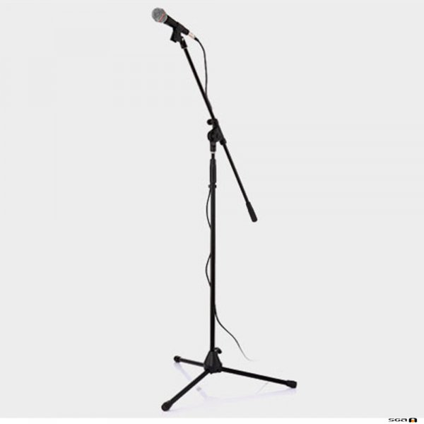 JTS JP-MSPTK350 Microphone / Stand Pack with JP-TK350 mic + boom stand + cable, conveniently bundled kit