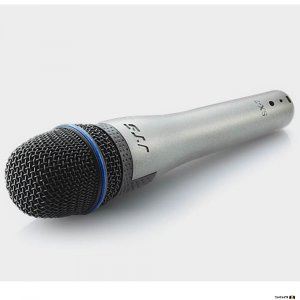 JTS JP-SX7 Premium slim dynamic wired mic, for instrument or vocals with three-pin professional audio connector